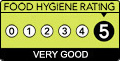 Food Hygiene Rating 5 Very Good